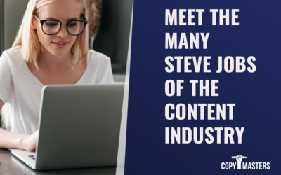Meet the Many Steve Jobs of the Content Industry